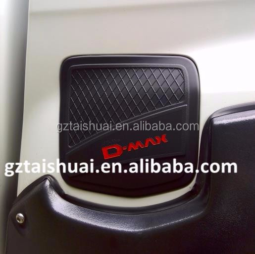 2014 dmax cover black car lamp cover for 2015 d max parts 2012~2016,lamp cover for car d-max