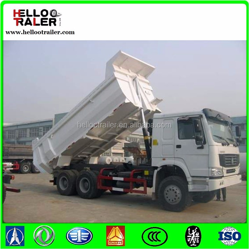 high quality HOWO 6x4 tipper truck/dump truck with cheap price