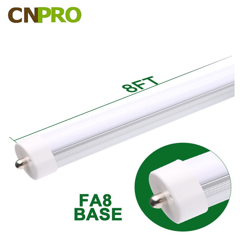 LED Tube T8 8FT 36W FA8 Single Pin Bulb Light Lamp Fluorescent Replace
