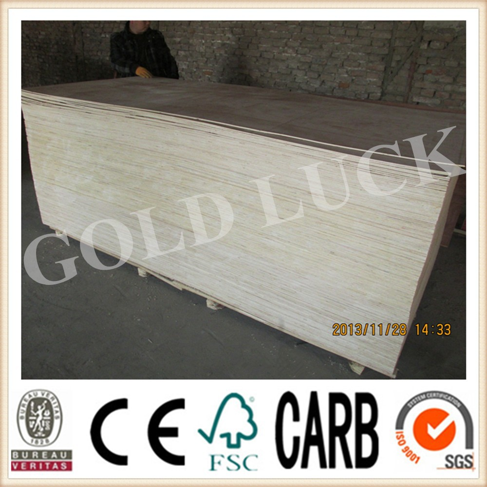 Qingdao Gold Luck 4x8 Luan / Okoume Plywood Thickness 2mm-25mm