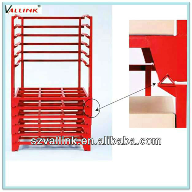 Industrial tire rack container storage steel pallet rack