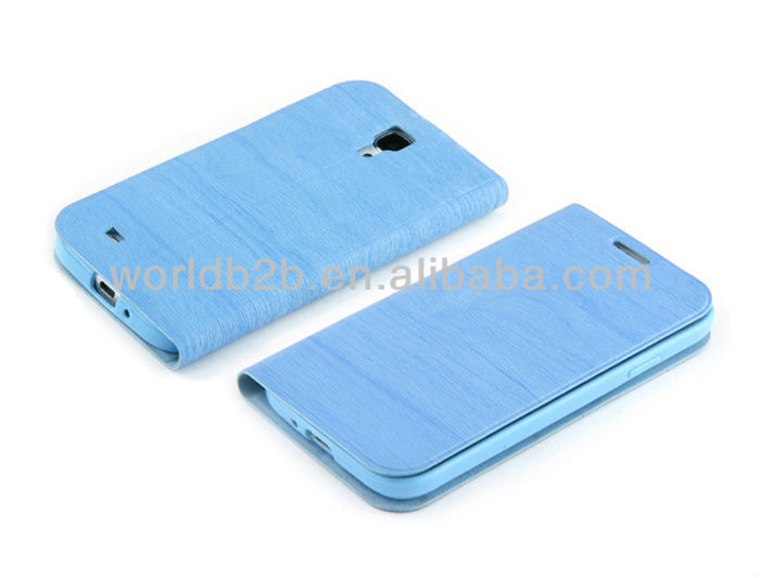 Cute Flip Leather Protection Case For Samsung Galaxy S4 Mini