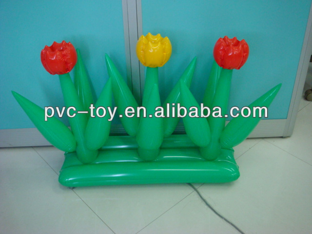 2013 very popular inflatable pvc flower for party decorative