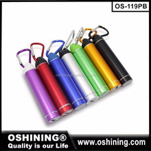 Wholesale high quality 2600mah power bank portable charger for samsung,mini power bank for iphone(OS-119PB)