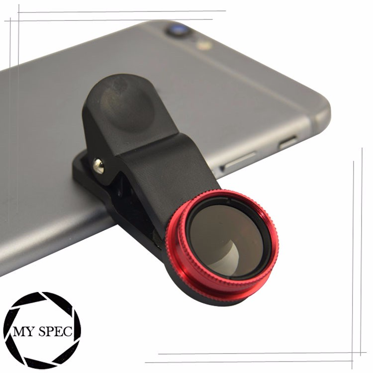 New latest 2016 Mobile phone external camera CPL lens for Smart phone