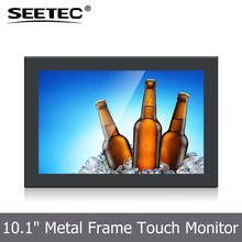 10.1 inch open frame screen tft lcd display hdmi vga input monitor with ips panel