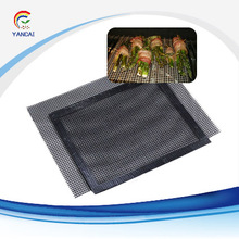 PTFE Coated Fiberglass BBQ Grill Cooking Mesh