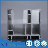 Co-extrusion blue white unique lg upvc indoor sliding