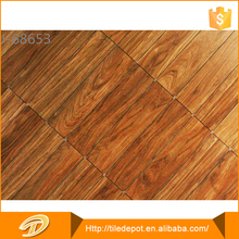 No damage or discoloration wood look marble floor tile