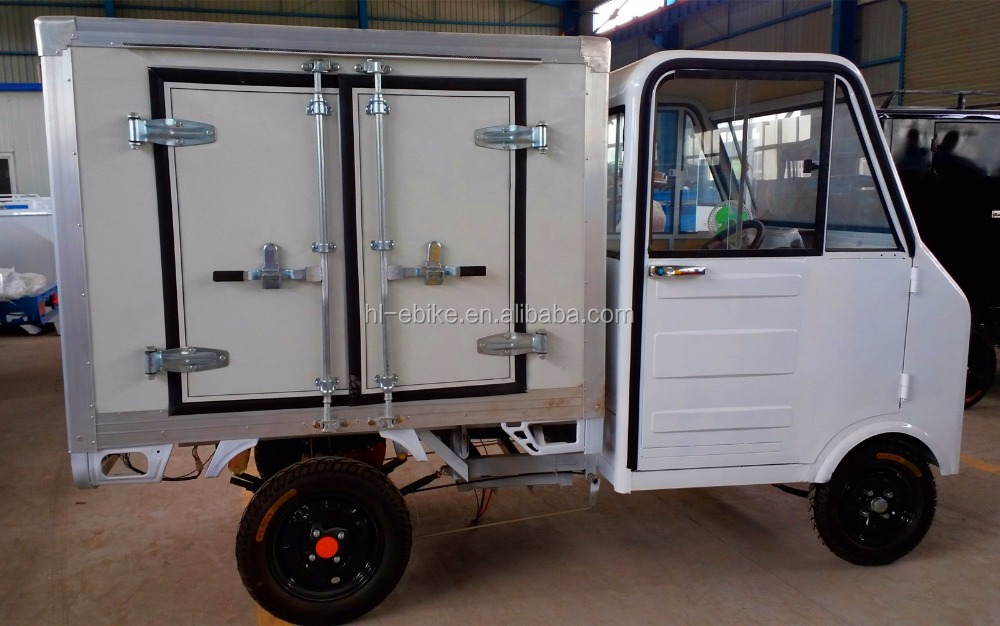 Electric quadricycles/car/pickup for freshing foods/milk/sea food deliver vehicles 4100002