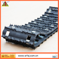 Bombardier rubber tracks facotry /snowcat/Skidoo/ yamaha / snowmobilr parts / snowmobile trailers rubber track