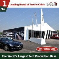 Waterproof aluminium car show tent for outdoor exhibition and product launch