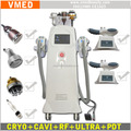 Portable Vacuum Freeze Criolipolise Ultrasonic Cavitation RF Celulite Reduction Beauty Device