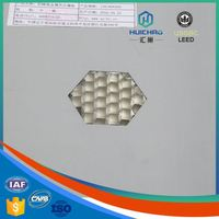 HC-Q China Manufacturer Cheap Lighting Aluminum Honeycomb pvc panel for wall and ceiling