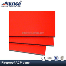 Alusign lightweight fireproof aluminium composite panel plate for kitchen cabinets wall decorative material