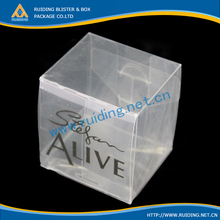 clear box taper candle packing boxes