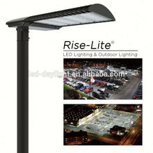 120W UL DLC Dimmable shoebox led parking lot light, DLC meanwell driver cre led street light 120W led retrofit kits