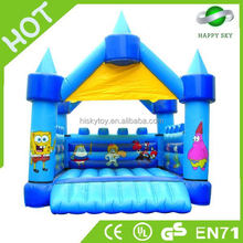 New design customizing inflatable bouncer cartoon,inflatable ben10 bouncer,boxing ring bouncers