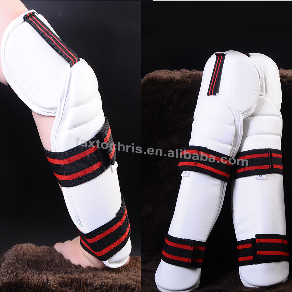 Taekwondo sparring gear dipped foam forearm protector with elbow