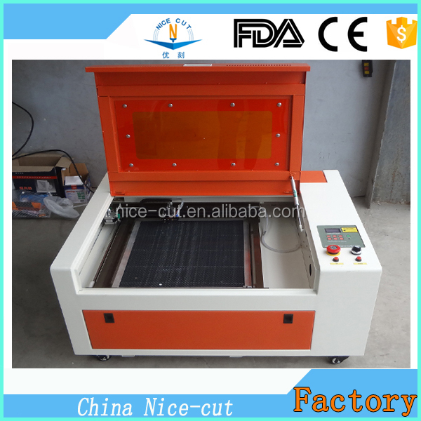 NC-S40 stamp engraving machine rubber seal laser carving machine