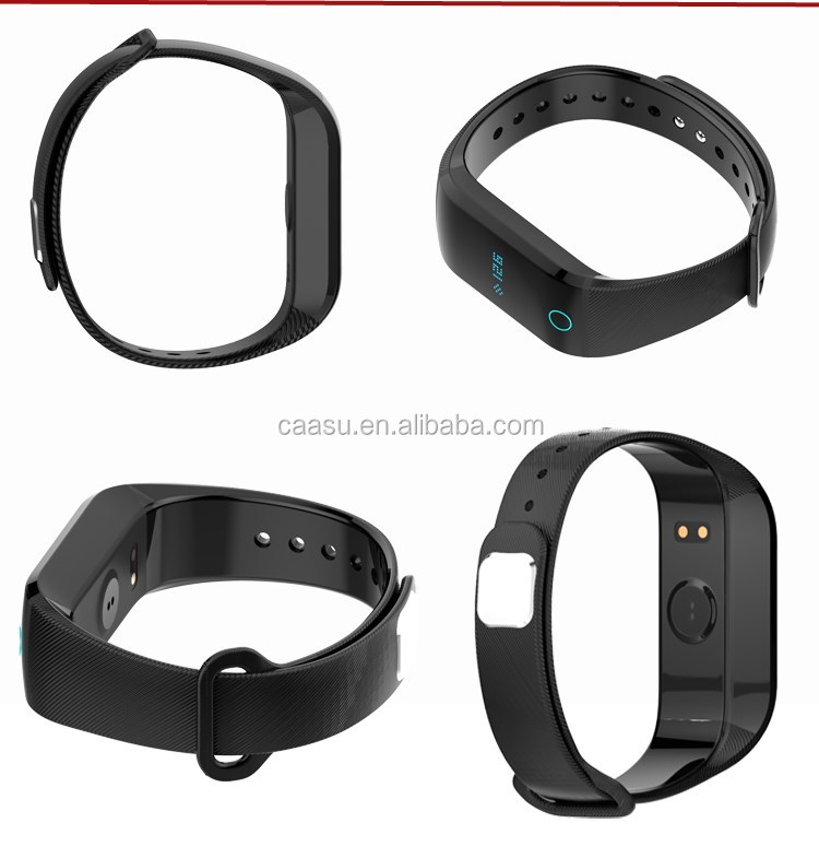 2017 Wireless 3D Motion Sensor Health Band with Heart Rate