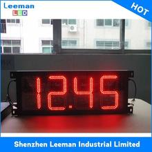 digital customized size gas station price p7.62 parking led display sign
