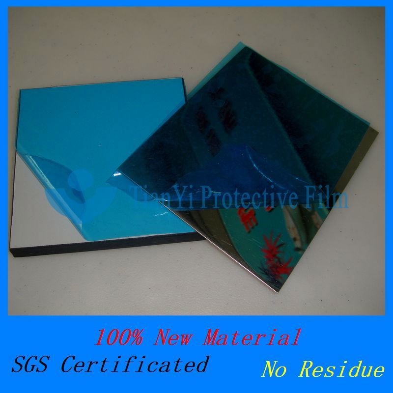Non residue anti scratch ACP/PMMA/Wood/Stainless surface protection protective film for plexiglass