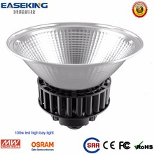 China Meanwell and SMD led high bay light 100w with 6000K CCT