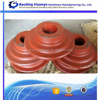 OEM Cast ductile Iron Rough Flange for Connections