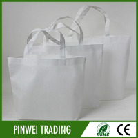 wholesale laminated tote mini nonwoven packing bags white no minimum in nonwoven