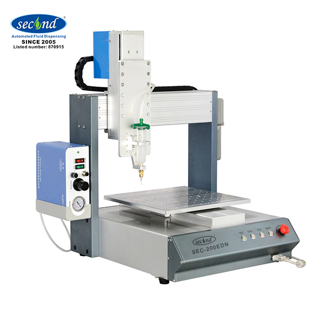 SMT SMD Assembly Desktop Automatic Epoxy Resin Dispenser Glue Doming Sticker <strong>3</strong> Axis Glue Dispensing Machine