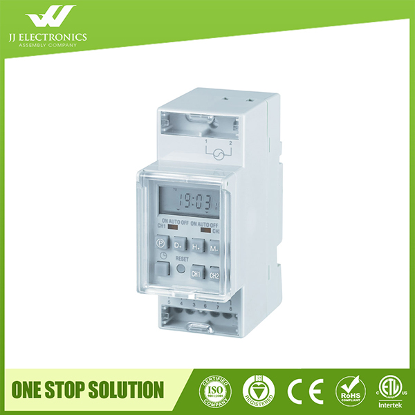 Top Quality din rail timer switch with CE certificate