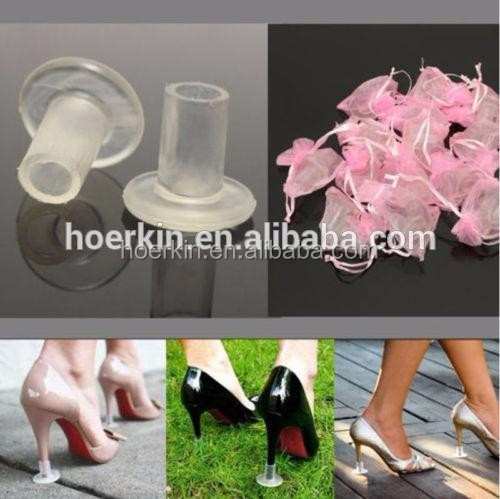 Women Shoes Dance Heel Protector Cover for Anti-Slip&Noise