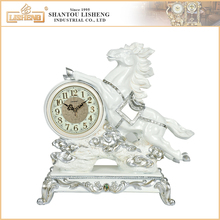 Royal brass resin retro antique gift table alarm wholesale clock
