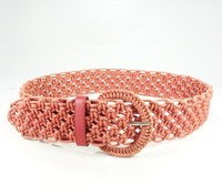 New design Fashion High Quality weaving lady belt