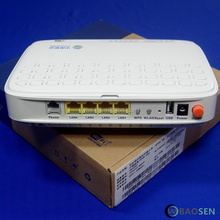 New original fiberhome HG260GT GPON onu mobile version, 4 net mouth, 1 voice port, built-in wireless WiFi