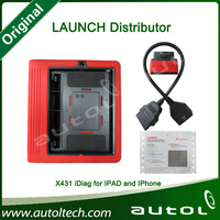 2013 New Arrival launch x431 idiag EasyDiag Scanner for iPad and iPhone with ipad case Update Launch website