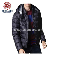 AD8503 men elegant detachable hood ultralight down jacket