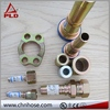 High performance enhanced 125a concrete pump pipe clamp coupling