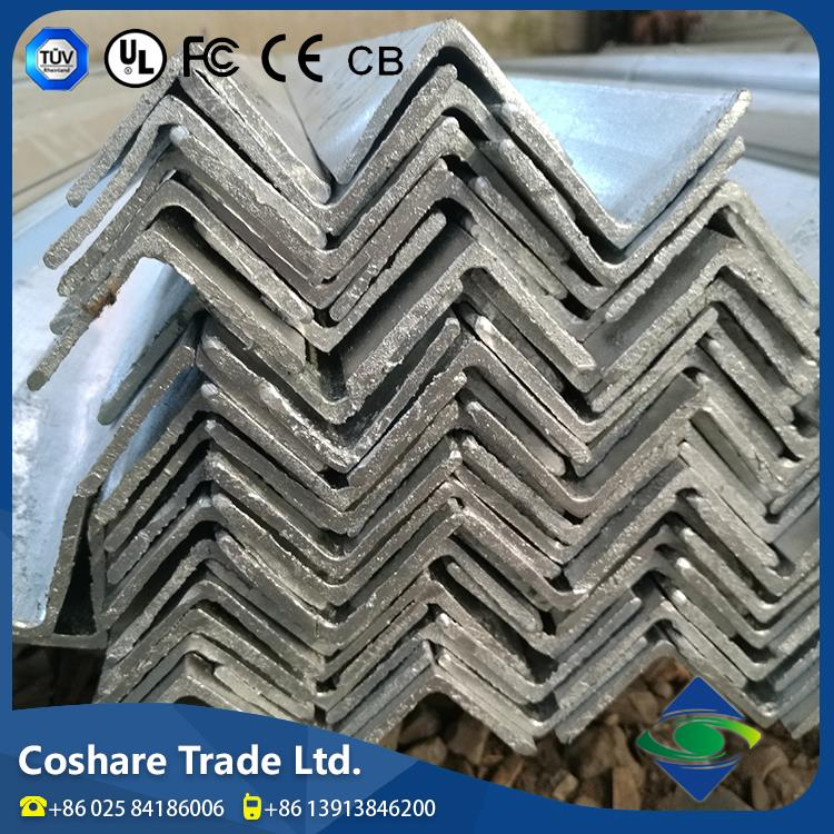COSHARE Exquisite Workmanship Various Specification steel angle iron with holes