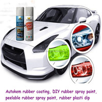 Rubber Paint Spray Plastic Dip Car