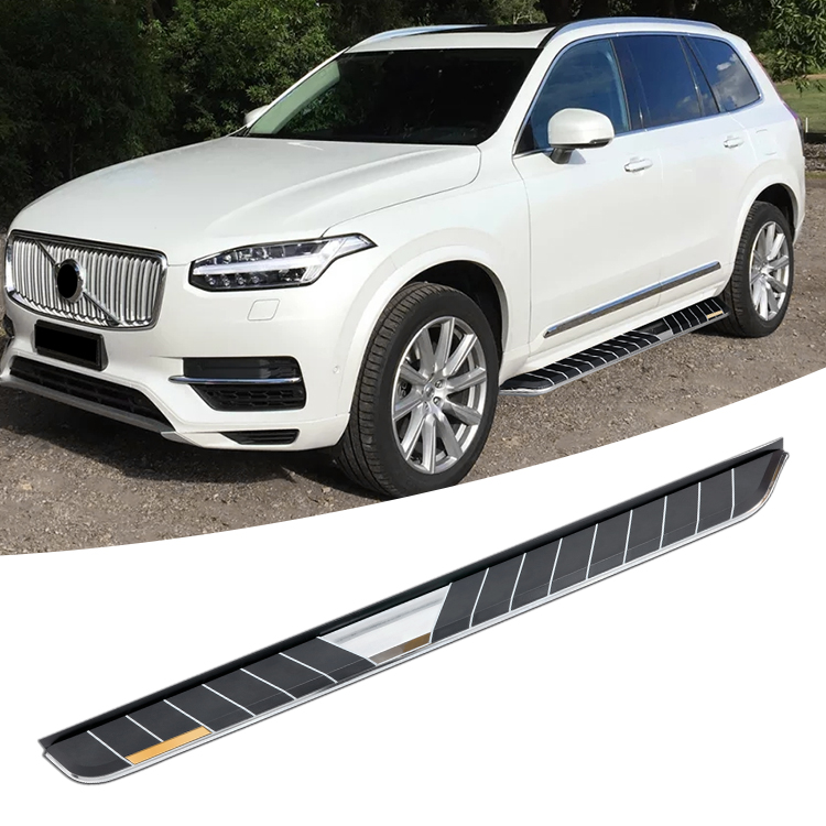 Easy to get on wholesale volvo xc90 side steps running boards for side bar factoery price