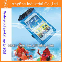 2013 New arrival waterproof case waterproof pack zipper waterproof pocket