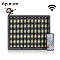 Aputure camera led video light continuous lighting with free bag and bettery HR672S