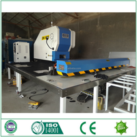 CNC Turret Punch Press for punching holes metal processing