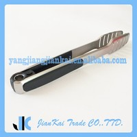 Non- Slip Stainless steel BBQ Tongs With Heat Resistant Handle