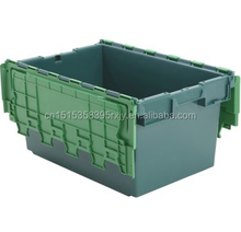 80 Litre Heavy Duty Attached Lid Container / Lidded Plastic Storage Box