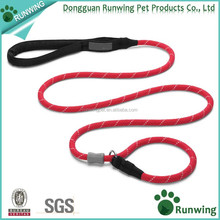 New Development Strong and Secure Locking Carabiner Dog Collar and Leash in One Leash