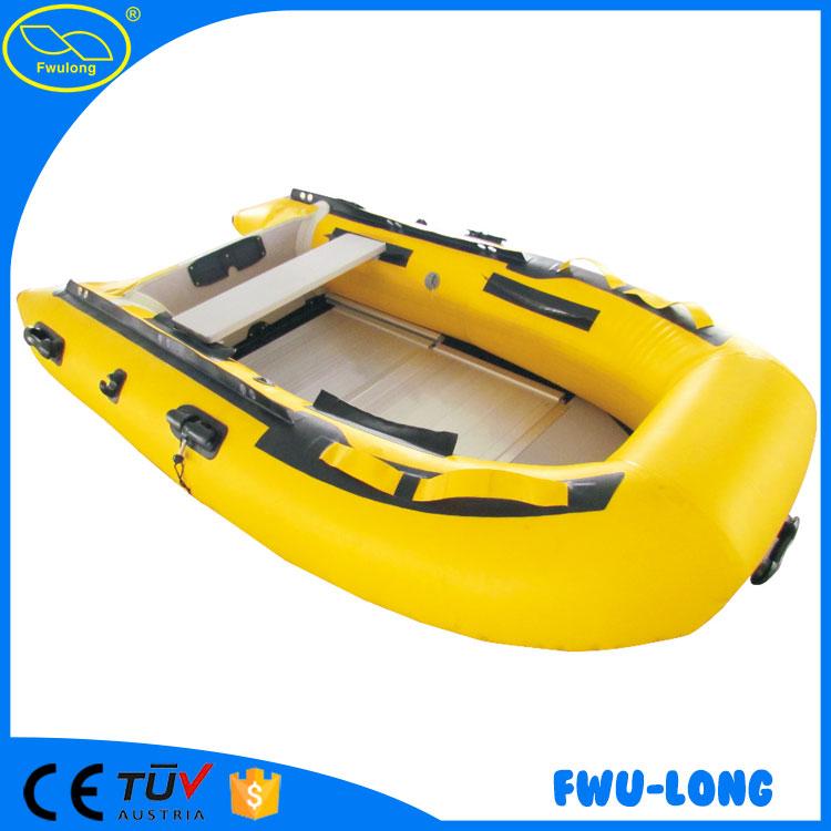 Customized color size recreational inflatable rowing boat