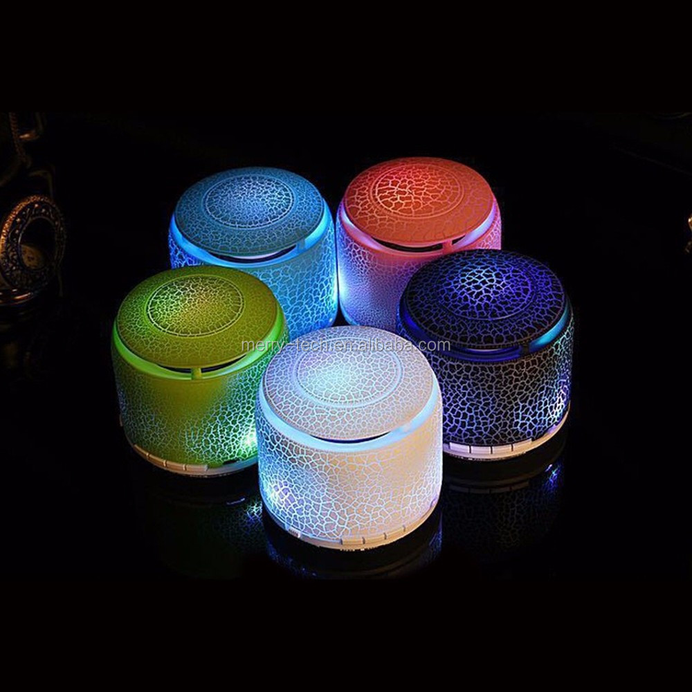Portable LED colour changing with best wireless bluetooth speaker